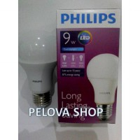 Lampu LED Philips 9 watt Bohlam 9w / Philip Putih 9 w Bulb LED