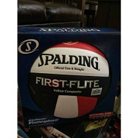 [poledit] Spalding First-Flite Indoor Volleyball Official Size & Weight (T1)/9730702