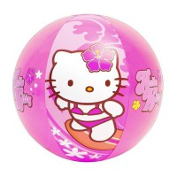 Intex Beach Ball Hello Kitty (51cm) Bola Mainan Anak Di Pantai Kolam Renang 58026