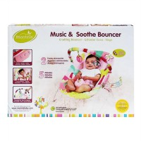 Mainan Bayi MASTELA MUSIC & SOOTHE BOUNCER PINK