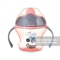 Tommee Tippee Weaning 1st Sippee For Baby Cup 4m - Pink Rabbit