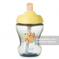 Tommee Tippee Trainer Straw Cup 7m+ - Orange Apple
