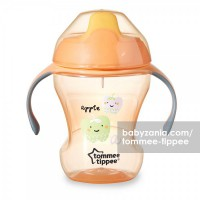 Tommee Tippee Trainer Sippee Cup with Handle 7m+ - Orange Apple