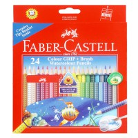 Faber Castell Water Soluble Grip Dot & Brush (Isi 24)