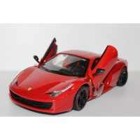 MOBIL RC SCALE 1:14 - FERRARI 458 WITH DOOR CAN BE OPENED BY REMOTE CONTROL