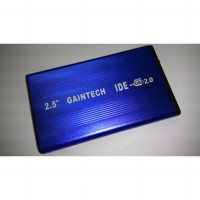 GAINTECH 2.5' EXTERNAL ENCLOSURE IDE BLUE