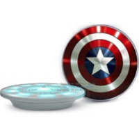 SAMSUNG Galaxy S6/S6 Edge Cordless Charger - Wireless Charger - MARVEL (Captain America)