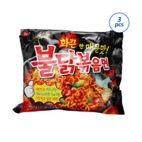 Samyang Hot Spicy Chicken Ramen Mie Instan [3 pcs x 140 Gram]