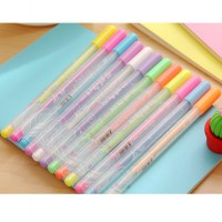 Candy Color Ballpoint Pen (Pena Tinta Warna Unik Murah)