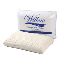 Willow Standard Latex TERMURAH Cover Knitting (60x40x12cm) Latex Premium BELGIA - Bantal Kesehatan