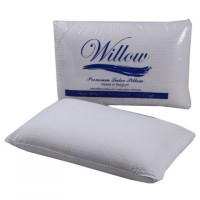 Willow Standard Latex JUMBO Tebal Tinggi (60x40x18cm) Pillow Latex Premium BELGIA - Bantal Kesehatan