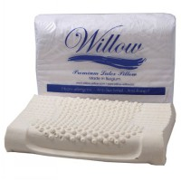 Willow ERGONOMIC TERMURAH Latex Dewasa Support Leher 60x40cmx8/12cm Bantal Kesehatan