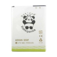 BATTERY BATERAI DOUBLE POWER DOUBLE IC RAKKIPANDA ADVAN S50F 4400mAh
