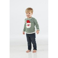 Mudpie Knit Santa Sweater #135A001
