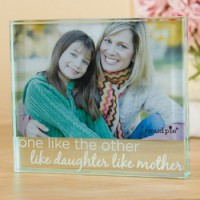 Mudpie Like Daughter Like Mother Glass Frame #177900