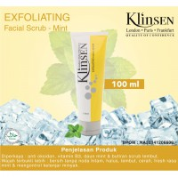 Klinsen Facial Scrub Exfoliating 100ml