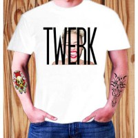 Kaos Miley Cyrus Twerk Wrecking Ball Matt Pop Mix ELV 01