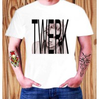 Kaos Miley Cyrus Twerk Wrecking Ball Matt Pop Mix ELV 10