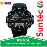 Jam Tangan Pria SKMEI Casio Men Sport LED Watch AD1081 by Suntec-Watch