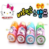 Hello Kitty Rubber Stamps random shooting just 5] group gift gift toys Children toys girls play house painting