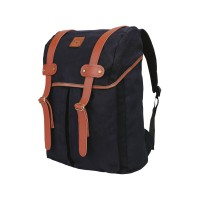 CATENZO Unisex Backpack YD 034 - Tas Ransel Canvas - Black (New Arrival)