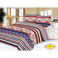 'Lidia' Bed Cover SET 120x200x20 'Sierra' No.3 Single Size