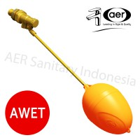 Floating Valve 1/2' / Pelampung Tandon Air ½' / Bola AER FV ½'