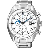 Citizen Jam Tangan Pria Silver Stainless Steel CA0590-58A