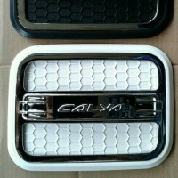 Tank Cover Bensin Chrome Calya