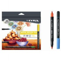 Lyra aqua brush Isi 12 Warna