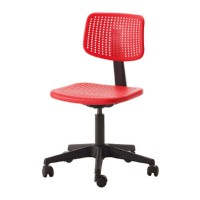 IKEA (R) - ALRIK Kursi Kantor, Swivel Chair, Berputar, Beban tested up to 100kg (Office)