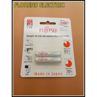 Baterai / Battery Fujitsu PUTIH 2 Pcs AAA 750mAh (Made In Japan)