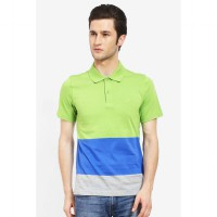 Country Fiesta MenS Polo Green-AHRMCOFL0149