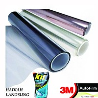 3M KACA FILM CRYSTALLINE + BLACKBEAUTY - MEDIUM SIZE CAR - Gratis Pemasangan di Tempat