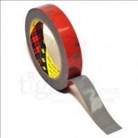 3M AFT Acrylic Foam Tape 5666, tebal: 1.1 mm, size: 24 mm x 4.5 m (Double Tape Mobil)