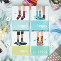 Leggy Shoes Socks Mixed Notebook - Buku Tulis Catatan Kertas Putih Polos Titik Bergaris