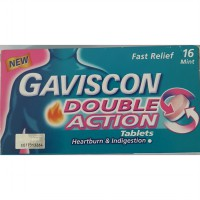 Gaviscon Double Action Tablets Gastric