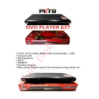MITO DVD PLAYER 677