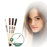 [1+1] THE FACE SHOP Lovely Me:ex Style My Eyebrow (Wood)