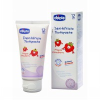 CHICCO BABY TOOTHPASTE / PASTA GIGI BAYI STRAWBERRY 50ML