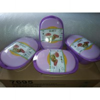 VERONA VALUE SET OF 4 UNGU DAN HIJAU / PURPLE / GREEN / VERONA UNGU ISI 4