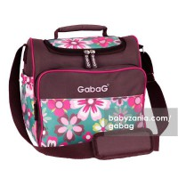 Gabag Cooler Bag - Sling Flower