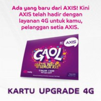 Kartu Upgrade 4G Axis