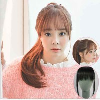 HO5038W - Hair Clip Poni Tipis Extension