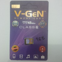 MICRO SD VGEN 4 GB CLASS 6 - SPEED UP TO 48 Mb/S (DIJAMIN ASLI)