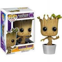Funko POP! Marvel Guardians of the Galaxy Pot Dancing Groot - Brown