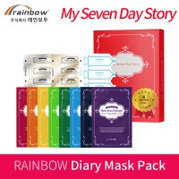 [RAINBOW] My Seven Day Story MASK PACK 11steps (1pack) + cream special set / skin care korea