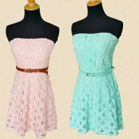 [CITY TRIANGLE] LACE DRESS/4 WARNA/DRESS WANITA/DRESS BRUKAT