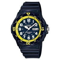 JAM TANGAN CASIO ANALOG MRW-200 H SERIES - DAYDATE DISPLAY MAN WATCH