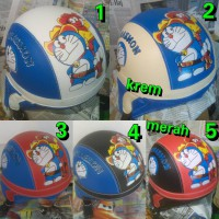 Helm Anak Doraemon Model Chip / Retro